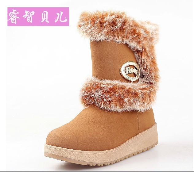 Hot sale !2013 winter kids children snow boots,boys and girls cotton-padded shoes,size 35-39,Free shipping!<br><br>Aliexpress