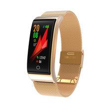 F4 Fitness Bracelet Men Women Smart Band Wristband Blood Pressure Heart Rate Monitor Fitness Watch Pedometer GPS Tracker PK S3(China)