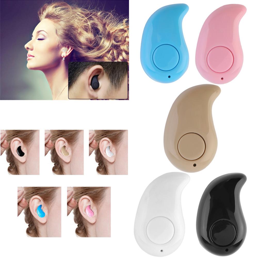 New Mini Wireless Bluetooth 3.0 Stereo In-Ear Headset Earphone Earpiece Universal Wholesale<br><br>Aliexpress