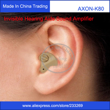 Hot Selling Hearing Aid Portable Small Mini In The Ear Invisible Best Sound Amplifier Adjustable Tone digital Hearing Aids Care(China (Mainland))