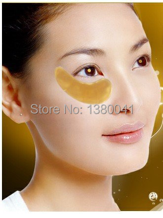 100Pairs Crystal Collagen Gold Powder Eye Mask Crystal Eye Mask Top Quality<br><br>Aliexpress
