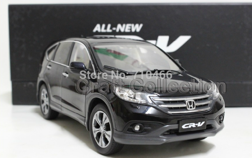 Black New 1:18 Honda CR-V CRV SUV 2012 Collectable Diecast Model Car Kits Building Vehicle Wholesale(China (Mainland))