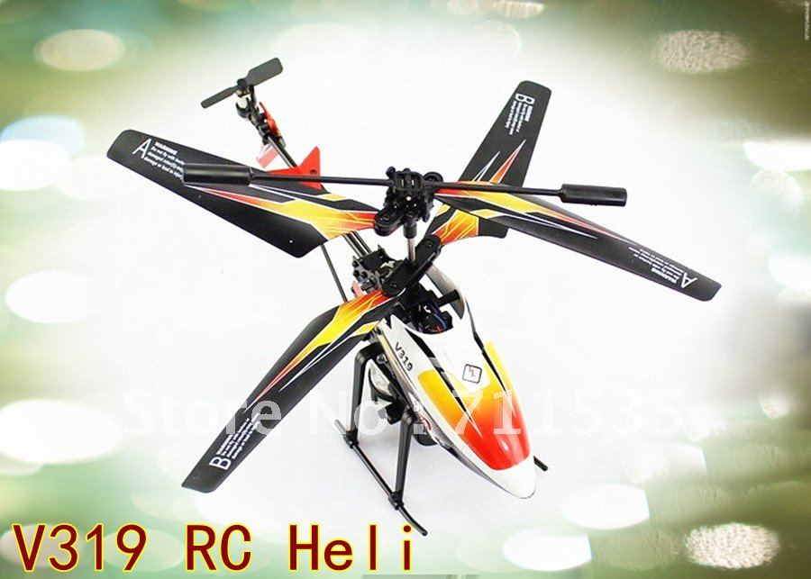 WL Outdoor Water Play V319 3.5CH Remote Control Helicopter With Gyro / LED Infrared Radio Controlled / Waterplay RC Helikopter(China (Mainland))
