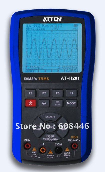 DMM and DSO 2in1 handheld digital oscilloscope Digital multimeter with<br><br>Aliexpress
