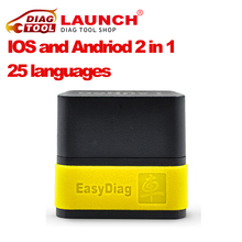 OBD2 scanner easydiag Launch x431 EasyDiag for IOS and Andriod easy diag 2 in 1 OBDII Generic Code Reader(China (Mainland))