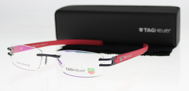 Fashion Brand Women&Men Optical Frame Rimless Eyeglasses Frame Alloy ...