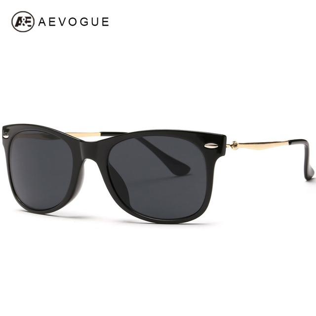Aevogue бесплатная доставка популярный бренд солнцезащитные очки женщины горячая распродажа солнцезащитные очки металлические храм óculos UV400 AE0241