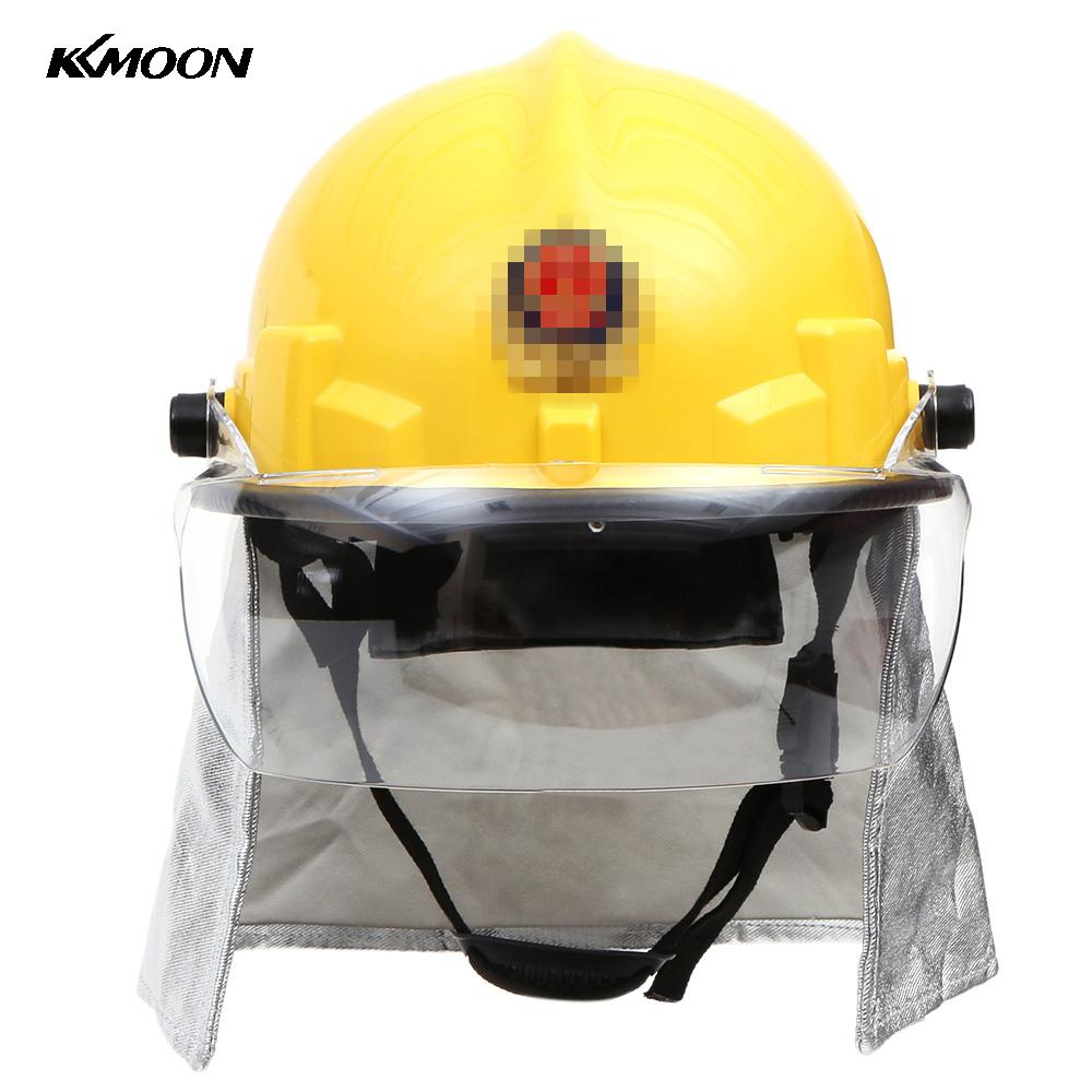 Fire Proof Fireman's Safety Helmet Working Helme With Google Amice Electric Shock Prevention Flame-retardant Fire Fighting