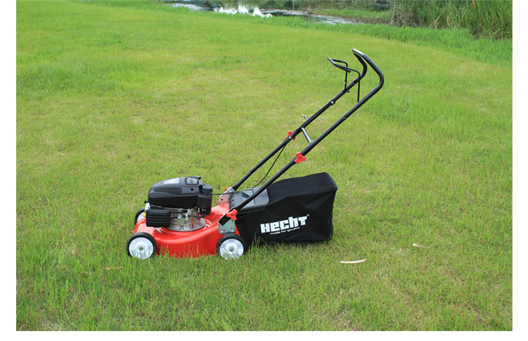 HYD16-B Pushed Four Stroke Gasoline Mower Lawn Machine 16 Inch Grass Trimmer Iron Chassis With 1p56 Power(China (Mainland))