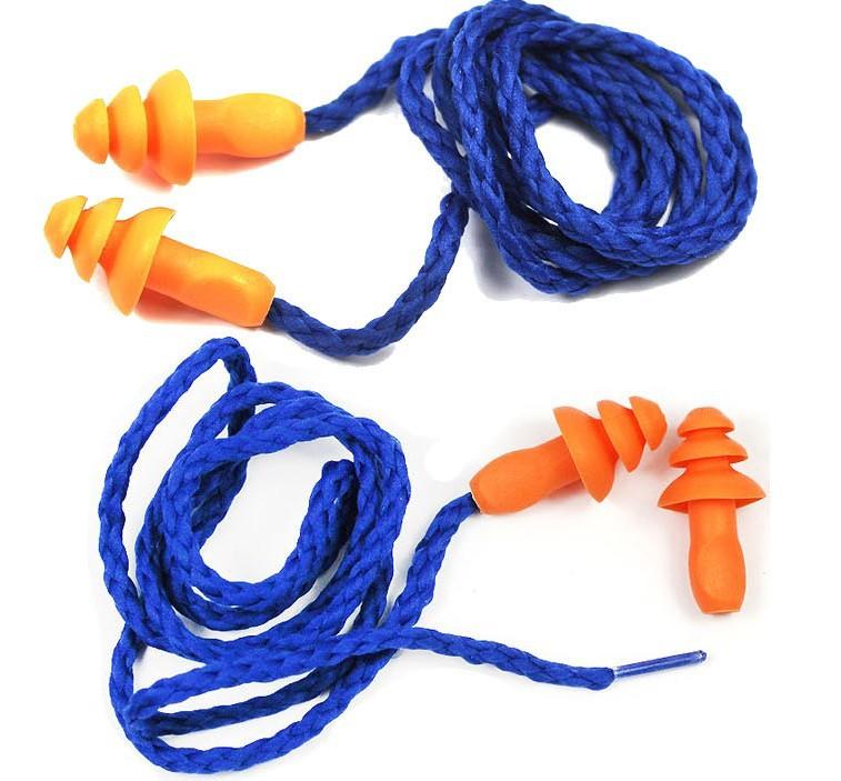 3M 1270 10pcs/box earplugs anti noise abatement sleeping ear protector summer swimming anti water Christmas tree style C102104<br><br>Aliexpress