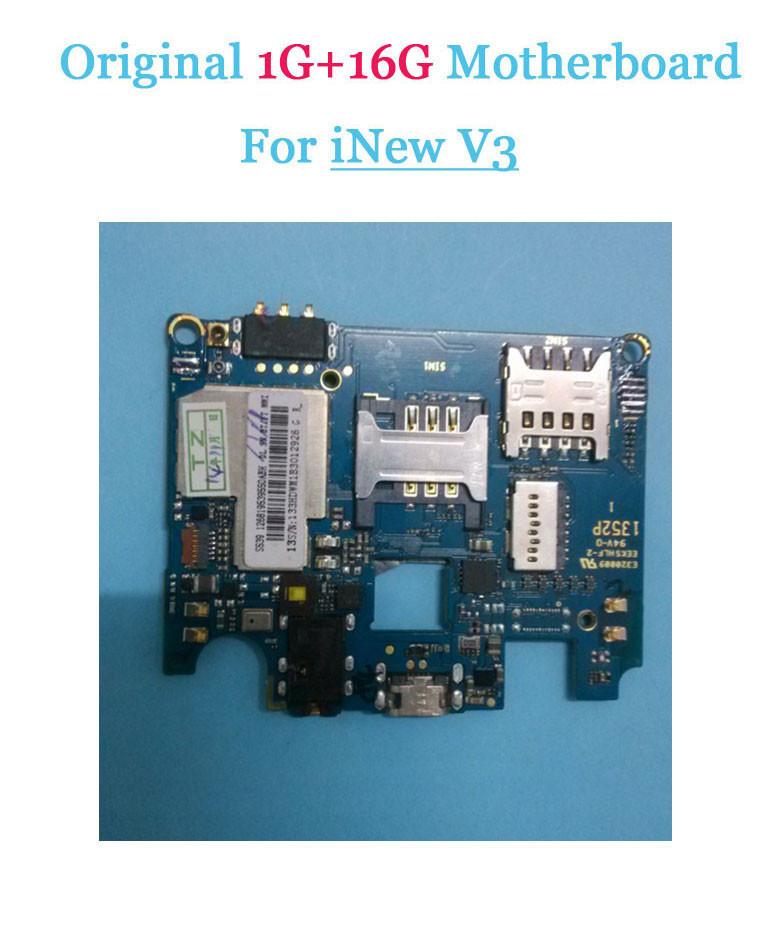 Original iNew V3 mainboard 1G RAM+16G ROM Motherboard for iNew V3 HD 5.0 inch MTK6582 Quad Core Free Shipping