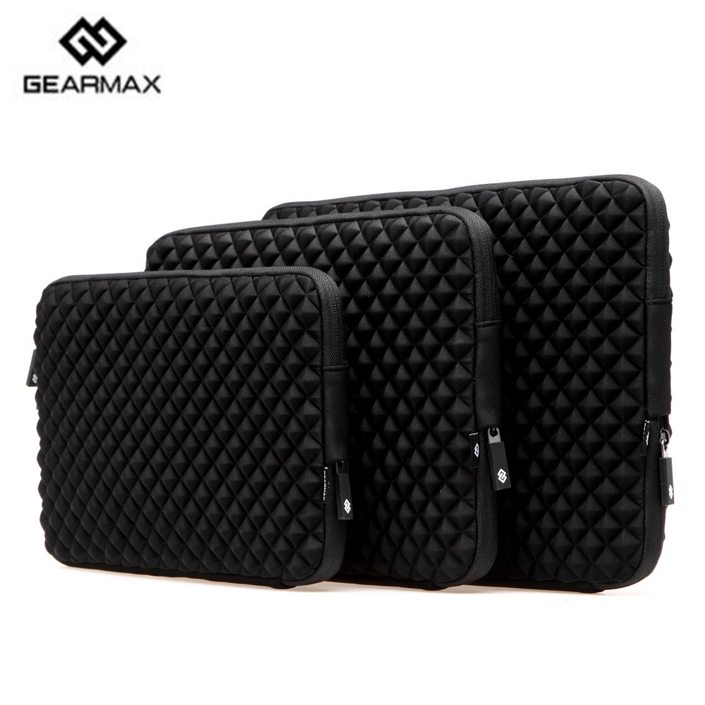 2015 Fashion Waterproof Laptop Sleeve 11 12 13 14 15 Laptop Bag+Free Keyboard Cover Neoprene Notebook Case For Macbook Air Pro(China (Mainland))
