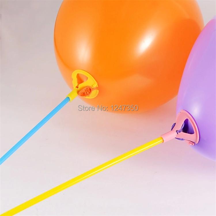 Balloons on Sticks Balloons Sticks Plastic