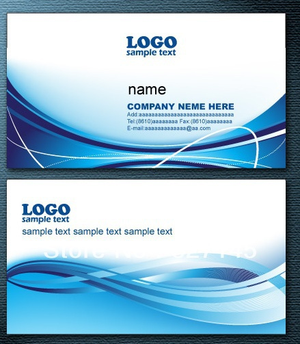 line Get Cheap Double Sided Business Card Aliexpress