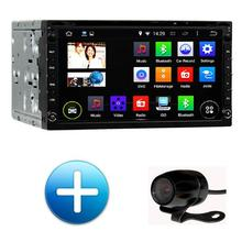 """Quad Core 1Ghz Android 4.44 Double 2 Din 7"""" Universal Car DVD GPS Navigator Autoradio Audio Stereo Bluetooth WIFI Capacitive(China (Mainland))"""