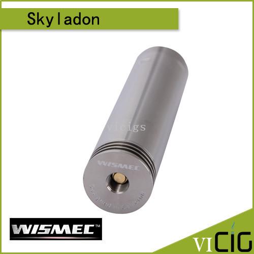 Wismec Skyladon механическая мод с 510 промежуточными пружиной разъем полностью из нержавеющей стали магнитная кнопка пожарной Campatib