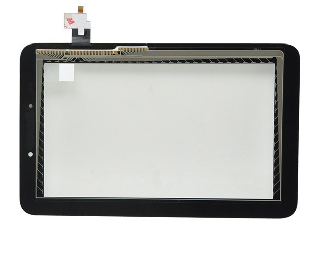 """Black Original 7"""" Lenovo IdeaTab A2107A A2207A Tablet touch screen LCD digitizer panel Sensor Glass Replacement Free Shipping(China (Mainland))"""