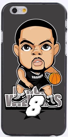 2015 Deron Williams Michael Druck Kunststoff hart Handy Fällen für iPhone 6 Fall 6 s 6 - 2015-Deron-font-b-Michael-b-font-Williams-print-plastic-Hard-phone-cases-for-iPhone-6