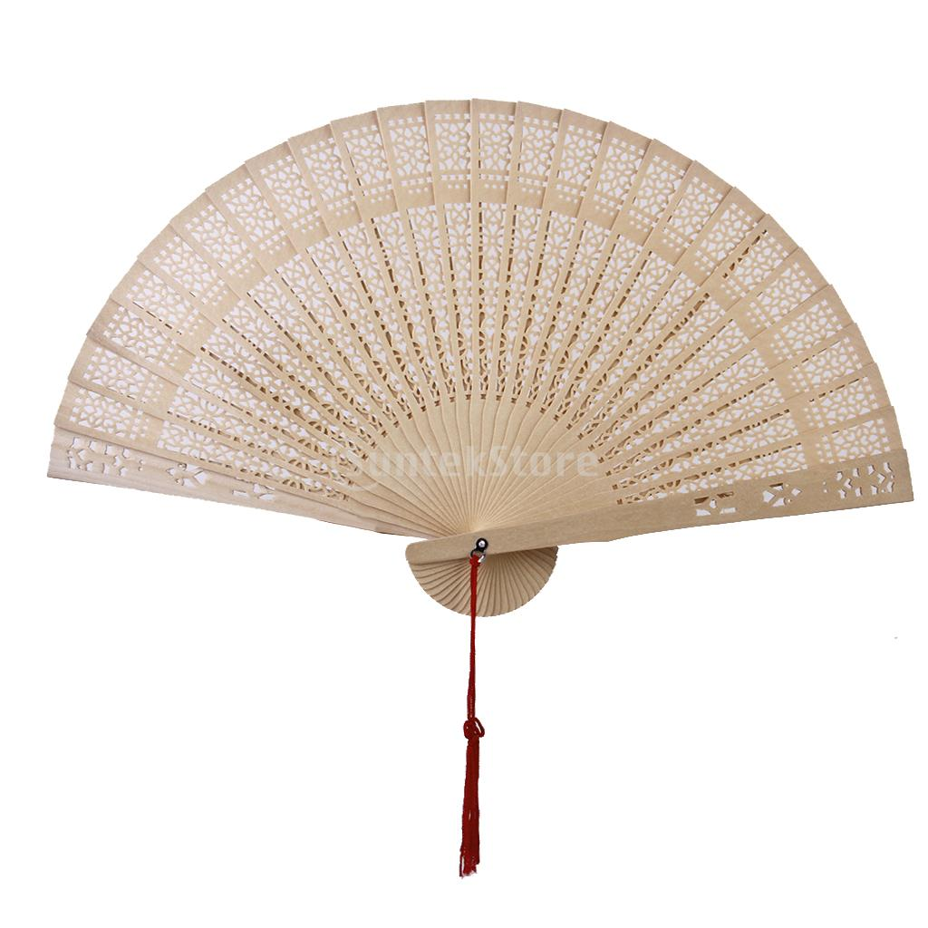New Arrivals Chinese Japanese Sandalwood Hand Fan Wooden Scented for Wedding Party Gift Free Shipping(China (Mainland))