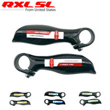 Buy Carbon Bicycle Bar Ends Bike Bar Ends Small Auxiliary Handlebar RXL SL MTB/Road Bicycle Accessories Parts 3K Gloss 110g for $11.13 in AliExpress store