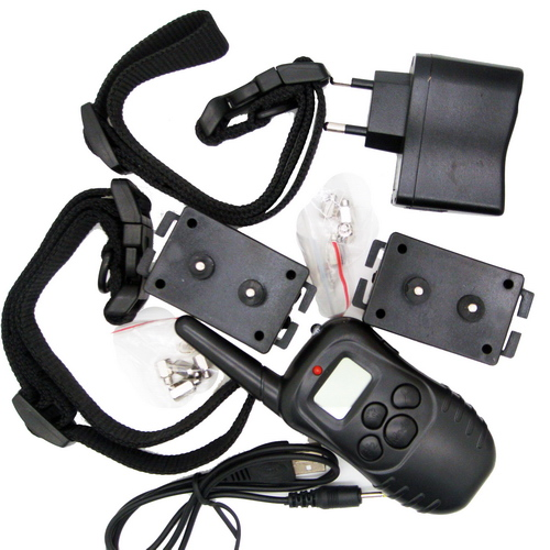 100PCS Rechargeable Remote Dog Training Collar 100 Level Vibration Shock for 1 Dog anti bark 998DR2(China (Mainland))