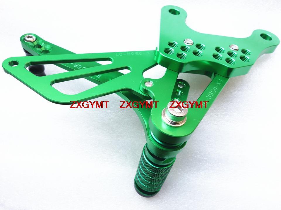 Footrest Foot Rest Pegs Rearset Rear Set fit KAWASAKI  Zx6r 636 Zx-6r Zx6r Ninja Zx-6r ZX636 2005 - 2008 2007 2006
