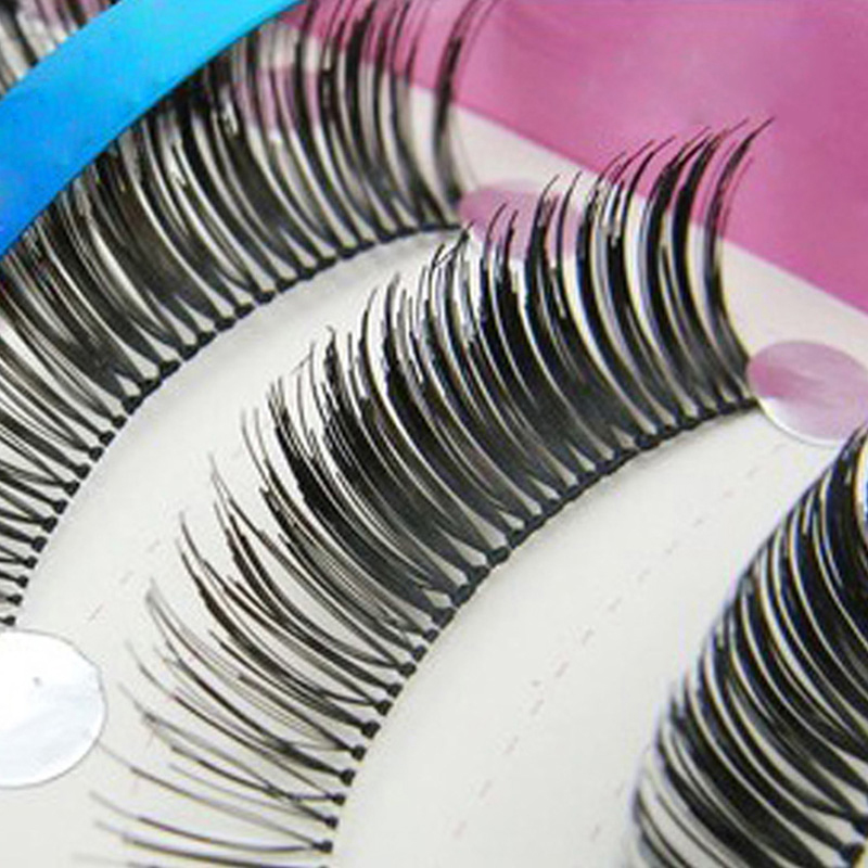 10pairs False Eyelashes Individual Tapered Eyelash Lashes Makeup Stage Natural Thick Extension Cilios Posticos - Love Beauty Ltd. store