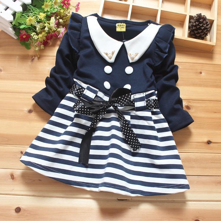 Wholesale baby girl dress children s dress 2015 new fashion high