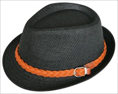 2014 summer fashion straw hat Belt metal buckle Sir Mo sun caps beach hats 8color 1pcs free shipping(China (Mainland))