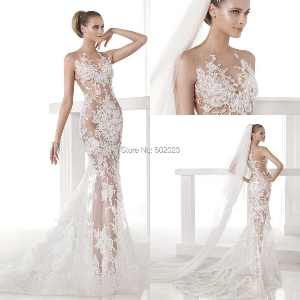 22 superb modern vintage lace wedding dress for Vintage wedding dresses houston