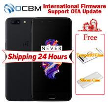 Original Oneplus 5 A5000 Mobile Phone Snapdragon 835 Octa Core 6/8GB RAM 64/128GB ROM 5.5 inchFHD Dual 16MP NFC Fingerprint 3300mAh - OCBM Store store