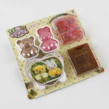 Creative Kitchen Accessories Kids Lunch box Onigiri Mold Bunnie And Bear Shaped School Convenient Baby Food Tools YJ-AMW-122 u4