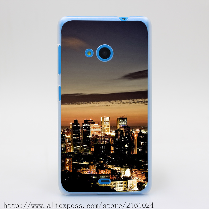 1338U Taiwan Taipei At Night Hard Case Cover for Nokia Microsoft Lumia 535 630 640 640XL 730(China (Mainland))