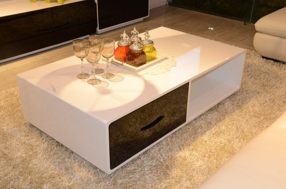 Contemporary Coffee Table Designs : Square Table, Modern Design Tea Table / Coffee Table, MDF+Specular ...