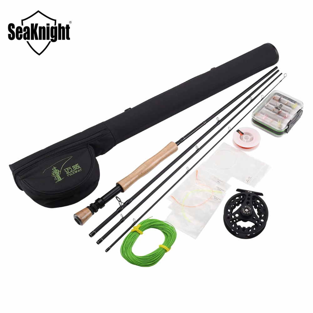 Maxway fly fishing rods 7 8 carbon fly fishing gear bag for Trout fishing supplies