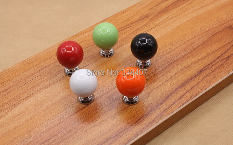 Ceramic Kitchen / Bedroom Furniture Hardware Furniture Fittings Handles and Knobs(China (Mainland))