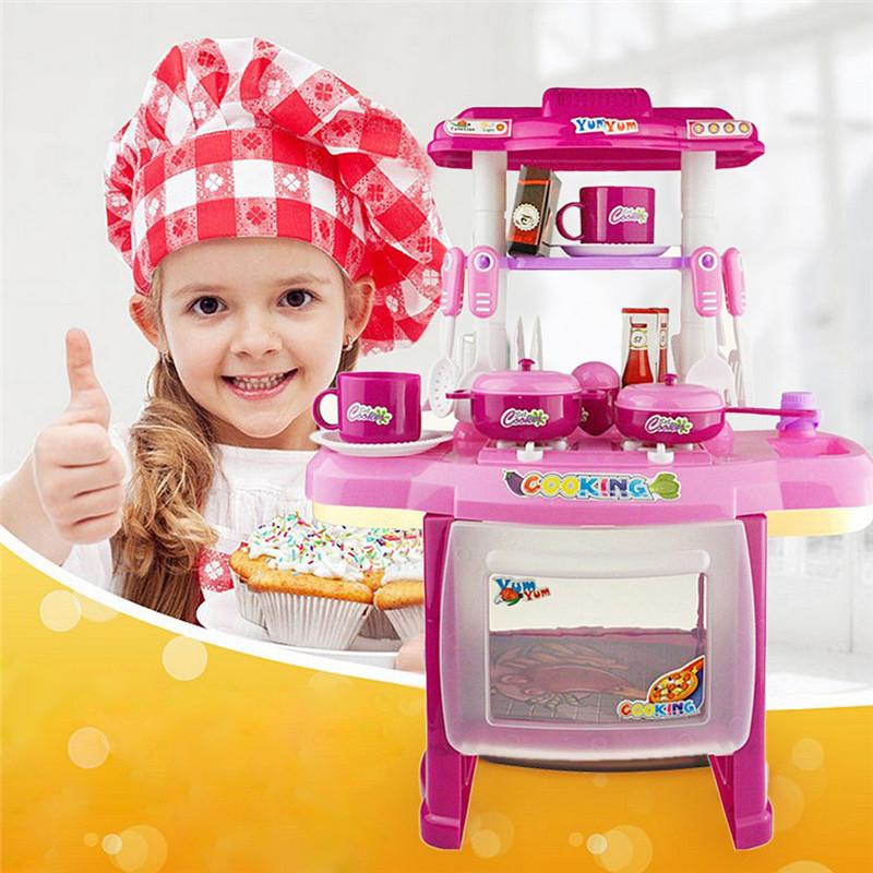 jardim luz mini mall : jardim luz mini mall:Children Cooking Kitchen Play Set