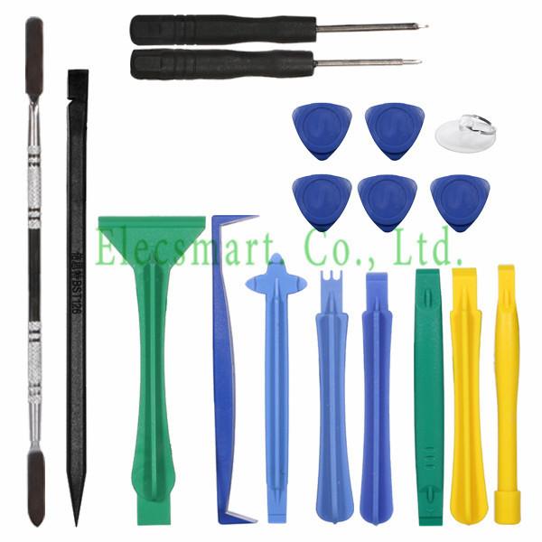 Professional 18 In 1 Cellphone Repair Tool Kit Screwdrivers Set for iPhone PC Tablet Mobile Phone Repair Ferramentas(Hong Kong)