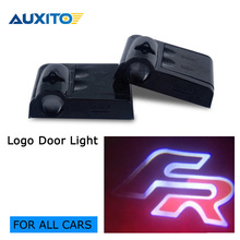 Buy 2pcs car door light ghost shadow welcome light logo projector FR emblem SEAT IBIZA LION FR Racing Sport Altea Alhambra for $8.40 in AliExpress store