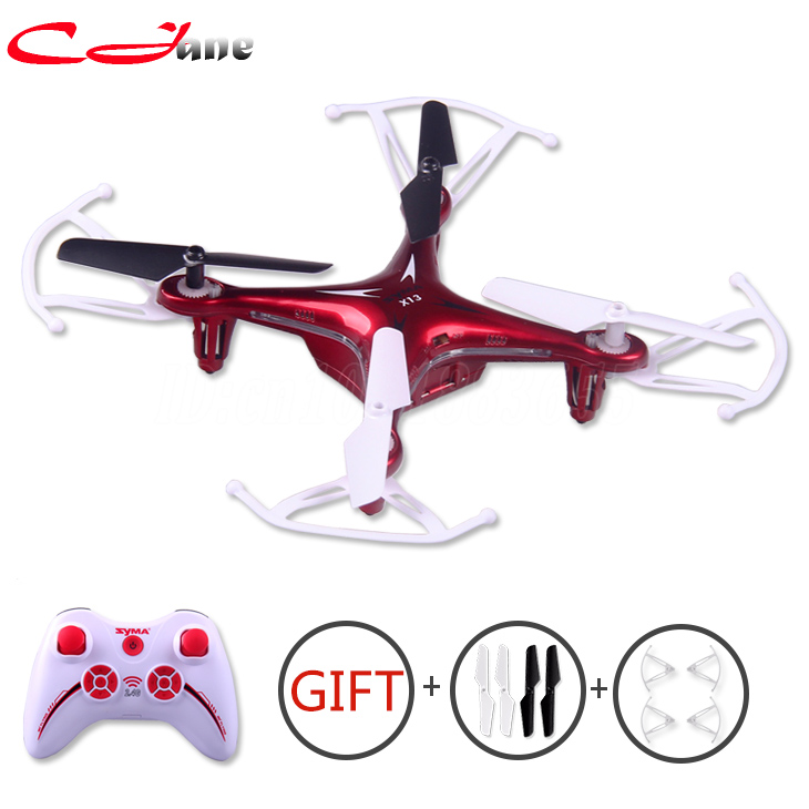 The Original Syma X13 New Hot Drones RC Quadcopter 6 - axis 2.4 GHz 4 ch RC helicopter RTF controle remoto 3 d Flips Toy Vs x5c(China (Mainland))
