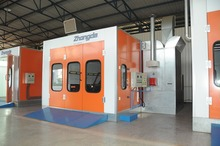 Zonda paint booth spray booth exported to German(China (Mainland))