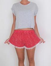 2015 Shorts Women Beach Tassel Bohemian National Wind Print Loose Women s Short Feminino Plus Size