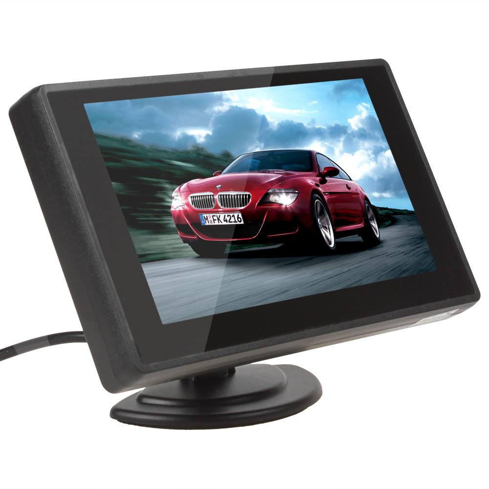 Автомобильный монитор 4,3/tft LCD 4.3' 2 DVD блокада 2 dvd