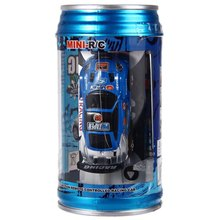 1 63 Mini Coke Can RC Speed Truck Radio Remote Control Micro Racing Car Hobby Vehicle Toy Birthday Gift Good Quality