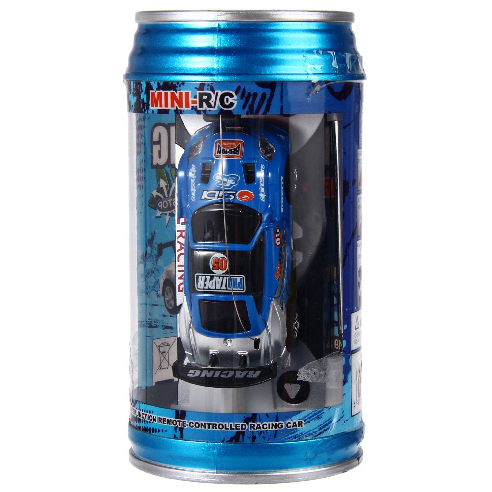1 63 Mini Coke Can RC Speed Truck Radio Remote Control Micro Racing Car Hobby Vehicle Toy Birthday Gift Good Quality(China (Mainland))