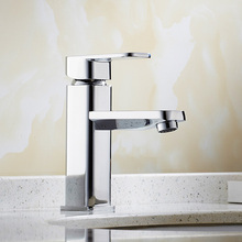 Buy NEW type basin faucet chrome finish bathroom faucet single hand bathroom basin mixer tap JM455 for $46.55 in AliExpress store