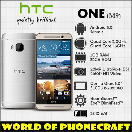"HTC one M9 Factory Unlocked Qualcomm Окта основные 3 ГБ RAM 20MP Gorilla Glass 5 ""FHD 1920*1080 4 Г TDD FDD LTE NFC Android Смартфон"