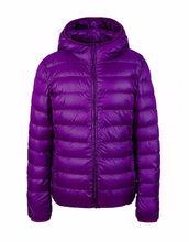 Bella Philosohy, зимний ультра-светильник, женское пуховое пальто с капюшоном, 90% белый утиный пух, куртка, тонкая, тонкая, парка, женская, пуховая ку...(China)