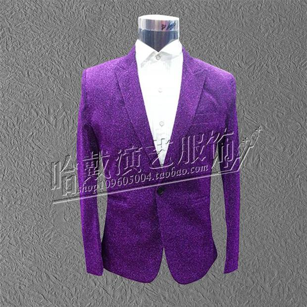 (jacket+pants+tie)man Suit costume men's clothing multicolour light suits male formal dress set singer dancer party prom bar - Top Hot Fashion TRADING CO.,LTD store