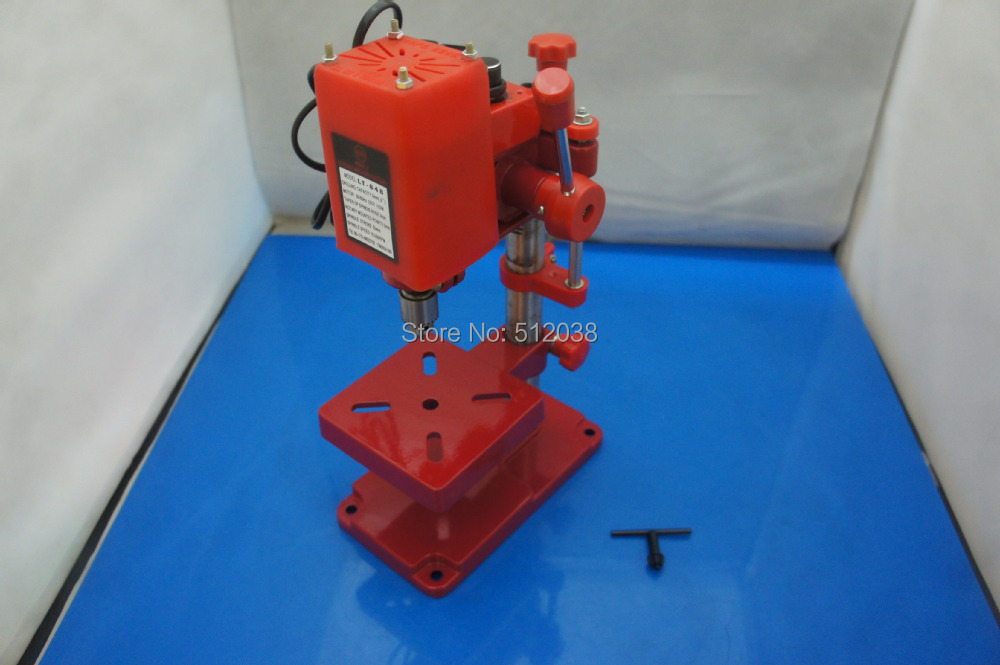 New Power Tool Mini Bench Drill Press bench drilling machine with high speed stepless speed regulation